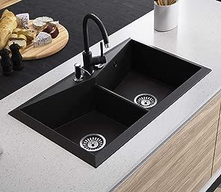 Black Kitchen Sink Lavello Diamond 200LT 31