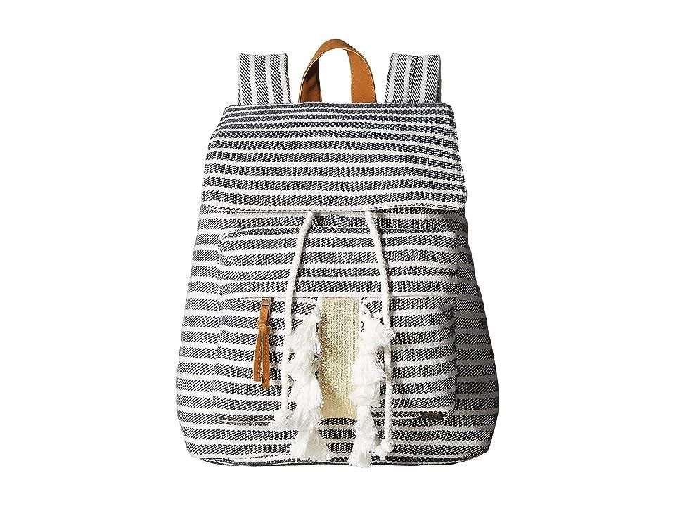 Roxy Love Them Hard Backpack (True Black) Backpack Bags 0aa0dfc90345c