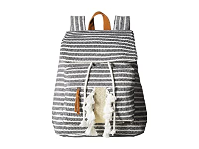 Roxy Love Them Hard Backpack (True Black) Backpack Bags