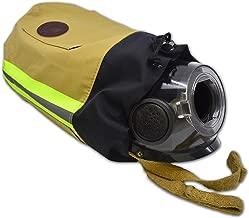 Fireflex Firefighter SCBA Respirator Mask Bag for Face Piece - TAN