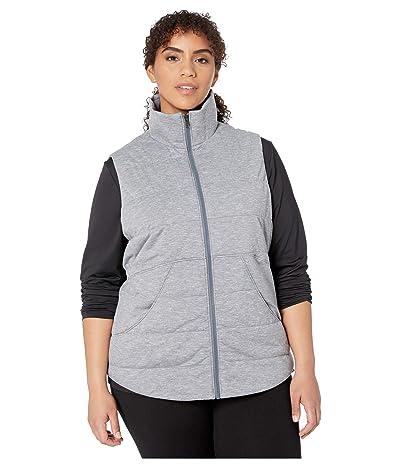 Marmot Plus Size Visita Insulated Vest (Steel Onyx Heather) Women