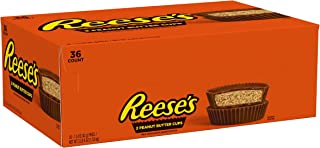 Reese's Peanut Butter Cups Chocolate Bulk Candy, Ships With Cool Packs, 1.5 Oz Packages (Pack of 36)