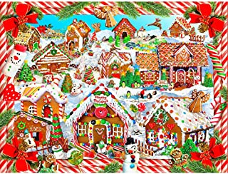 Huacan DIY 5D Diamond Painting by Number Kit Full Square Rhinestone Embroidery Crystal Cross Stitch Christmas Ornaments Arts Craft Supply Wall Decor 30x40cm/11.8x15.7in