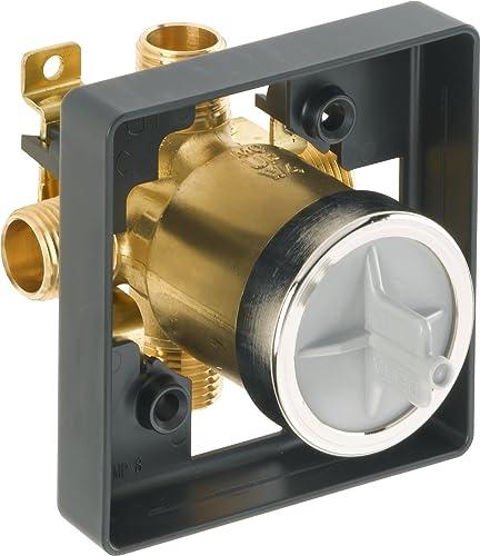 Delta Faucet R10000-UNBX MultiChoice Universal Tub and Shower Valve Body for Tub Faucet Trim Kits