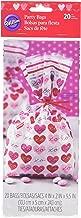 Wilton 1912-5514 Heartfelt Valentine Treat Bags