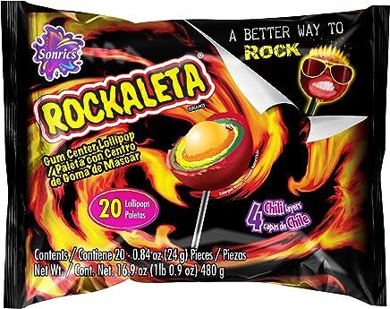 Duff Decorating Gamas Sonrics Rockaleta Bag, 20 ct