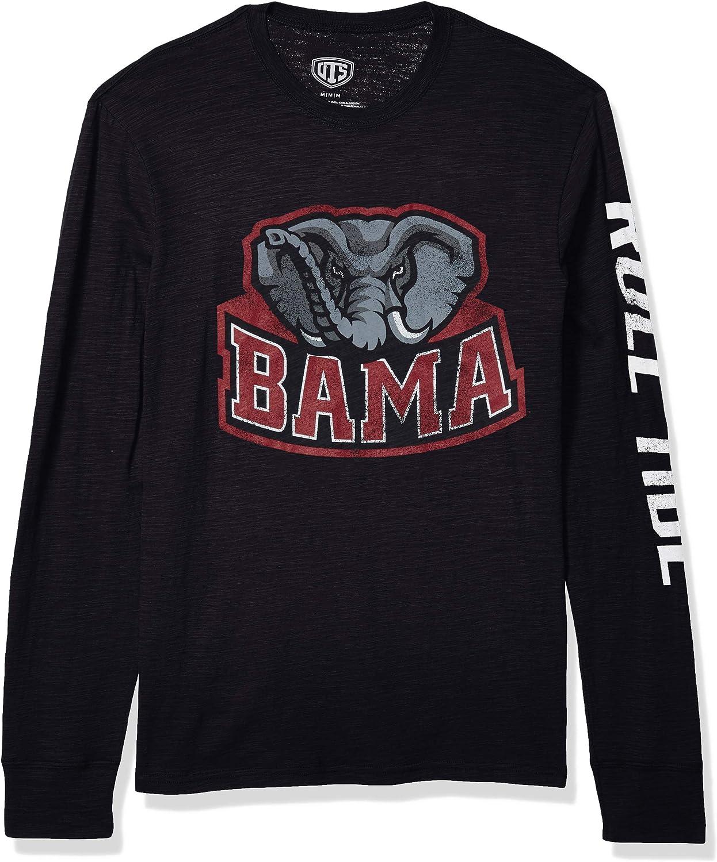 受注生産品 NCAA Men's OTS Slub Sleeve Tee Long ブランド品