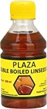 Plaza Double Boiled Linseed Oil 200 ml Pack Used for Wood Finishing, On Walls Before Applying Paint, Mixing in Putty, Bare...