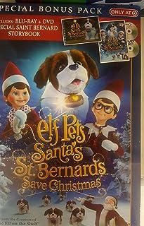 Unbranded Elf Pets Santa's st. Bernards Saved Christmas Combo (Blu-ray)