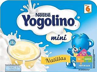 Nestlé Yogolino Postre lácteo Mini Natillas, para bebés a partir de 6 meses - Paquete