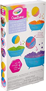 Crayola Creations Colour Mix Bath Burst Bomb Kit, Design and Customise Bath Bombs, Create & Relax in a Scented Spa Bath Experience, !