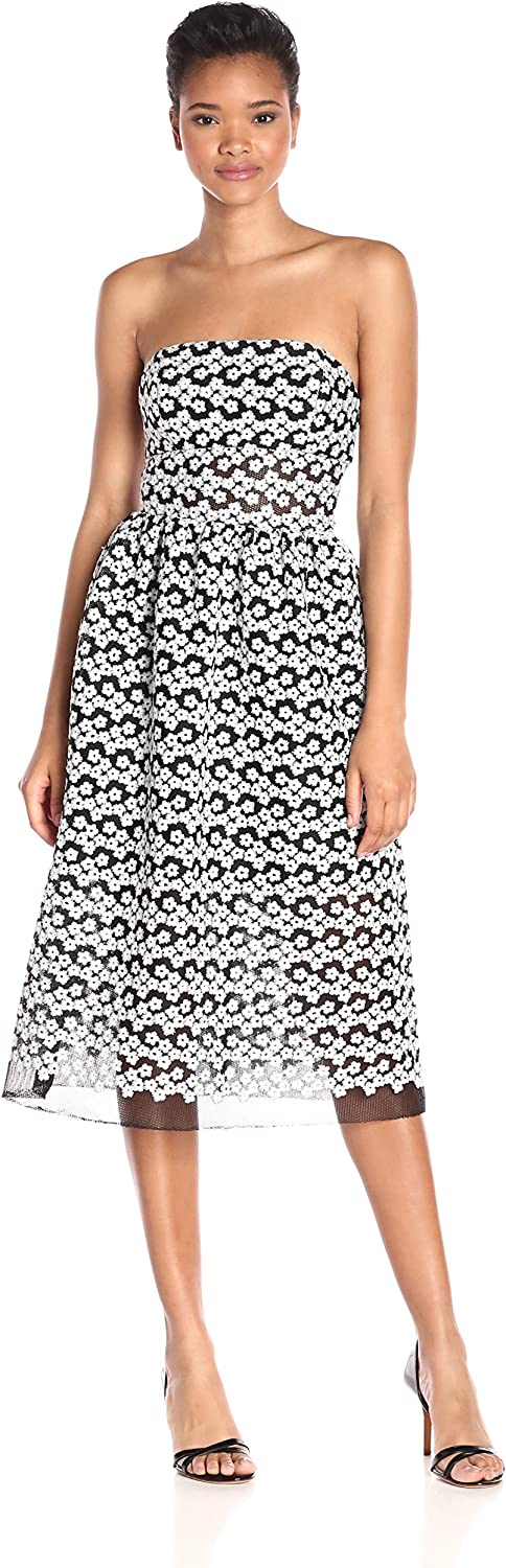 ABS by Allen Schwartz Womens Strapless Cocktail Dress Dress