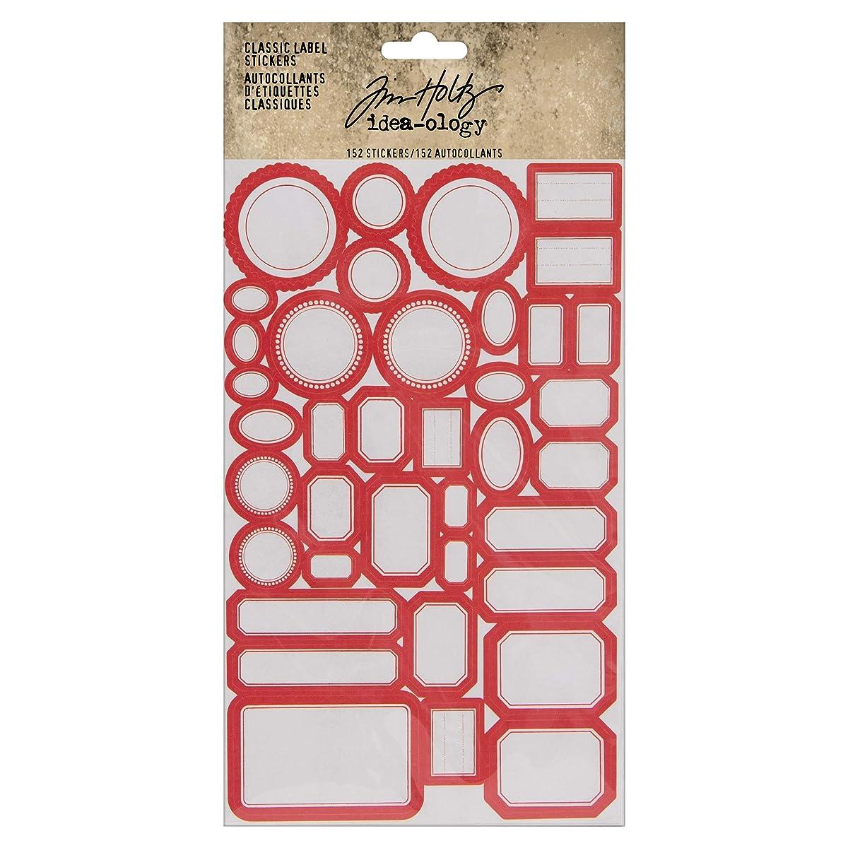 Tim Holtz, Advantus TH93959 Classic Stickers Vintage Labels Assorted