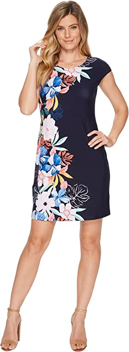 Tommy Bahama Hibis-Sketch Short Dress