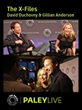 David Duchovny and Gillian Anderson on The X-Files: Live at the Paley Center