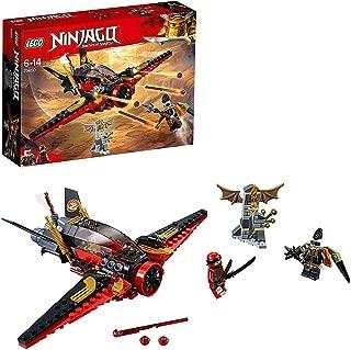 LEGO Ninjago Destiny's Wing Toy Jet Plane, Kai & Jet Jack Minifigures, Airplane Building Sets for Kids
