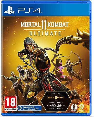 Mortal Kombat 11 Ultimate, PlayStation 4 [Importación italiana]