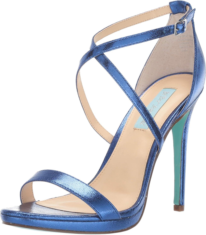 Betsey Johnson Womens Sb-andi Heeled Sandal