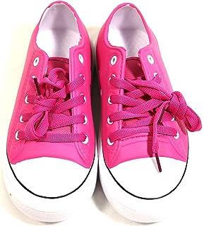 Bobbie Brooks Women Hot Pink Croc Like Waterproof Sneakers Size 10