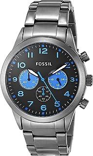 Fossil Men's BQ2124 Year-Round Analog Quartz Silver Watch