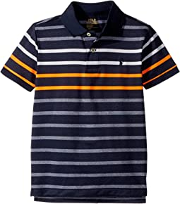 Polo Ralph Lauren Kids - Performance Stretch Lisle Polo (Little Kids/Big Kids)