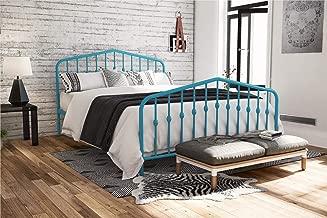 Novogratz Bushwick Bed, Queen, Blue