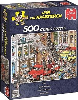 Jumbo Jan Van Haasteren Fire Jigsaw Puzzle (500 Piece)