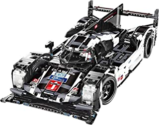 KareFLASH Champion Race Car Building Block Kit | 1586 Pieces Major Brands Compatible | Adult Collectible | Scale 1:9.5