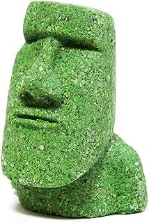 南三陸モアイファミリー ミニモアイ像 グリーン 緑色 美容・健康運 お守り グッズ おもしろ雑貨
