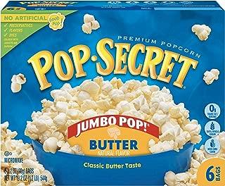 Pop Secret Jumbo Pop Butter Popcorn, 6-Count Box