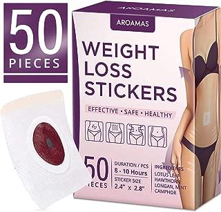 Aroamas Weight Loss Sticker, Fat Burning Abdominal Fat Away Sticker Magnets, For Beer Belly, Buckets Waist, Waist Abdominal Fat, Quick Slimming 50Pcs