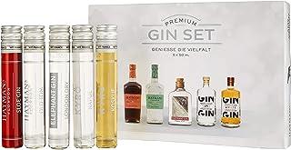 Gin Tasting Set 5 x 50ml - das perfekte Gin - Tasting-Set - ideales Gin - Geschenk