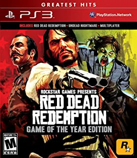 Red Dead Redemption Game of the Year