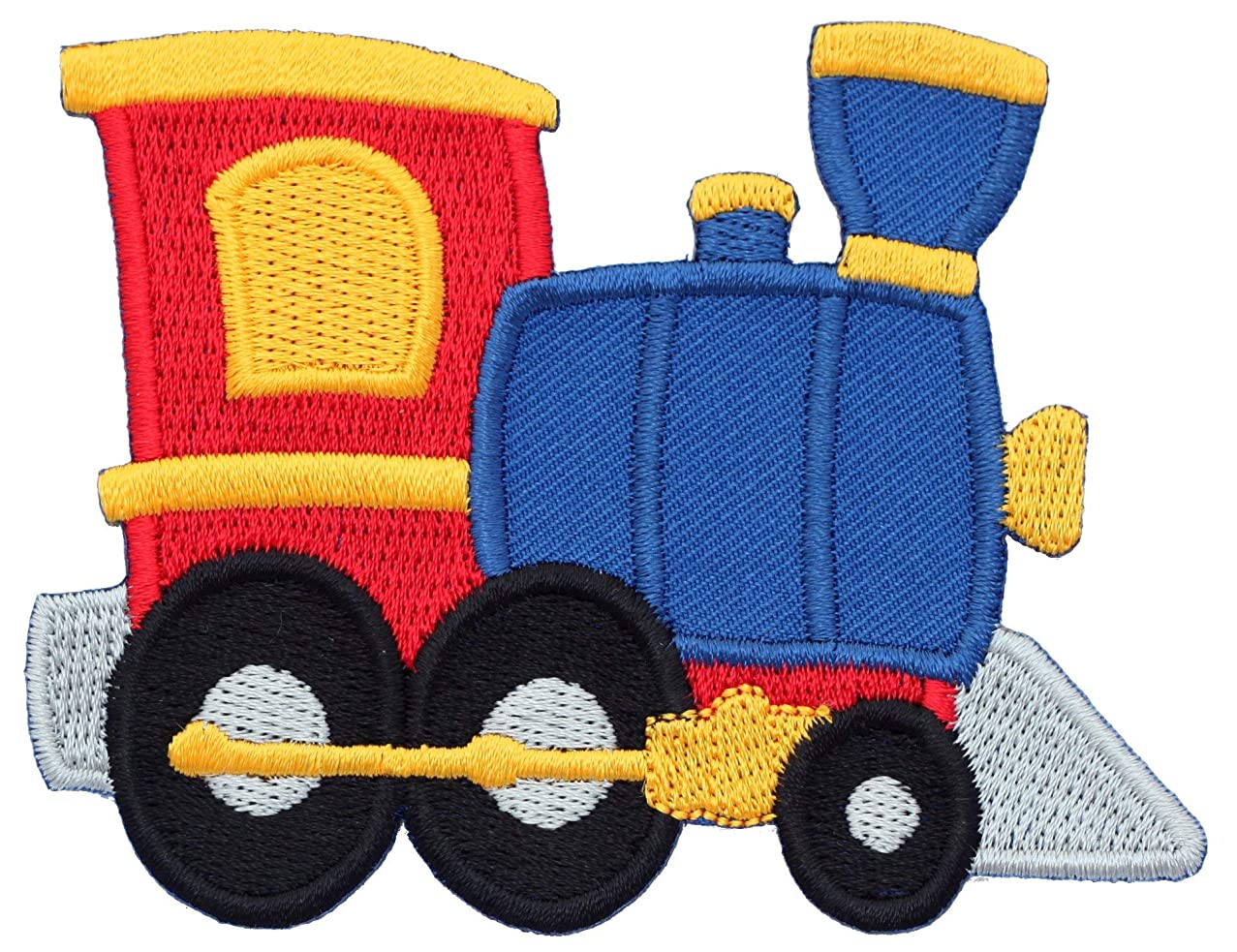 PatchMommy Iron On Patch, Train - Appliques for Kids Children