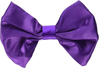 "Amscan 8402304 Purple Bow Tie, 2.75"" x 4.5"" 1 ct"