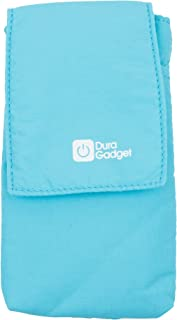 DURAGADGET Lightweight, Premium Quality & Ultra-Portable Nylon Smartphone Case (Blue) with Belt Loop - Compatible with Goodmans GDPRDAB Pocket DAB Radio