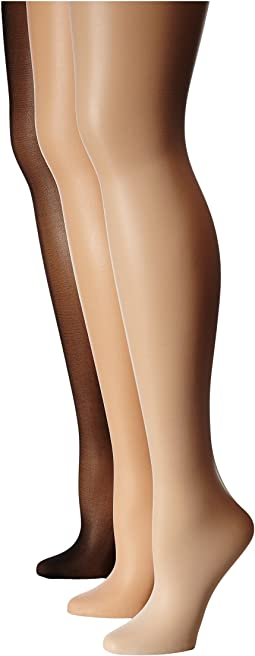Jr. Miss Pantyhose 3-Pack (Toddler/Little Kid/Big Kid)
