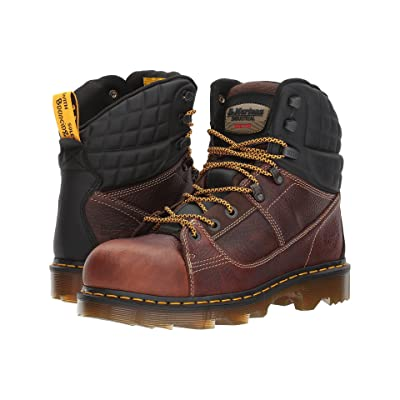 Dr. Martens Camber Alloy Toe (Teak Industrial Bear/Black Soft Rubbery) Boots