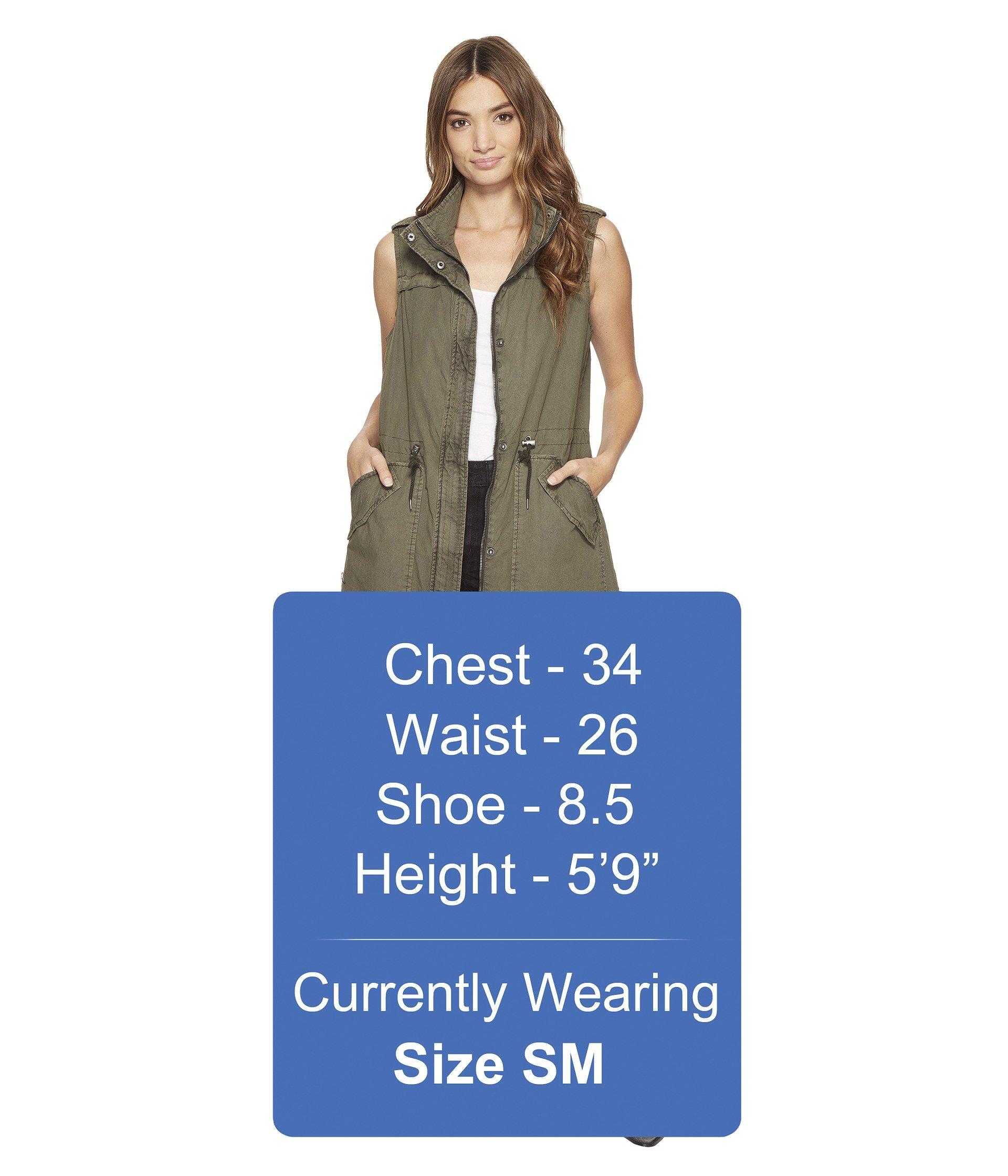 Levi's® Levi's® Long Long Coachella Vest Coachella Vest Army Army OF1Uw