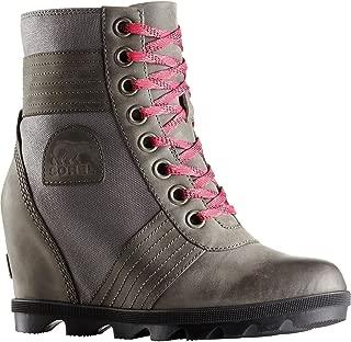 Womens Lexie Wedge Rain Boot, Quarry, Size 6