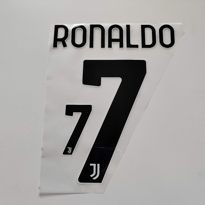 Amazon.com : Patches Juventus 2020-2021#7 Cristiano Ronaldo Home ...