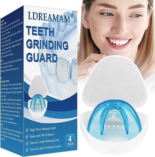 Gouttière dentaire anti bruxisme,Dispositif Anti-Grincements,traitement de grincement des dents,Empêche le Grincement...