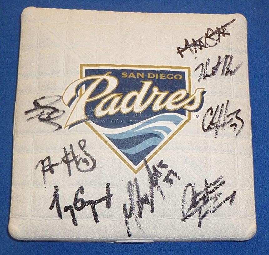Heath Bell Chase Headley +6 Signed Padres Base - PSA/DNA Certified - MLB Autographed Miscellaneous Items