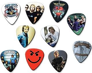 Bon Jovi (Tribute Edition) Set of 10 Electric Acoustic Guitar Plectrums