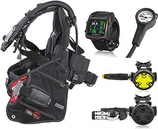 SEAC Pro 2000 BCD, Synchro Regulator Octopus and Aqua Lung i750 Dive Computer, Scuba Gear Package