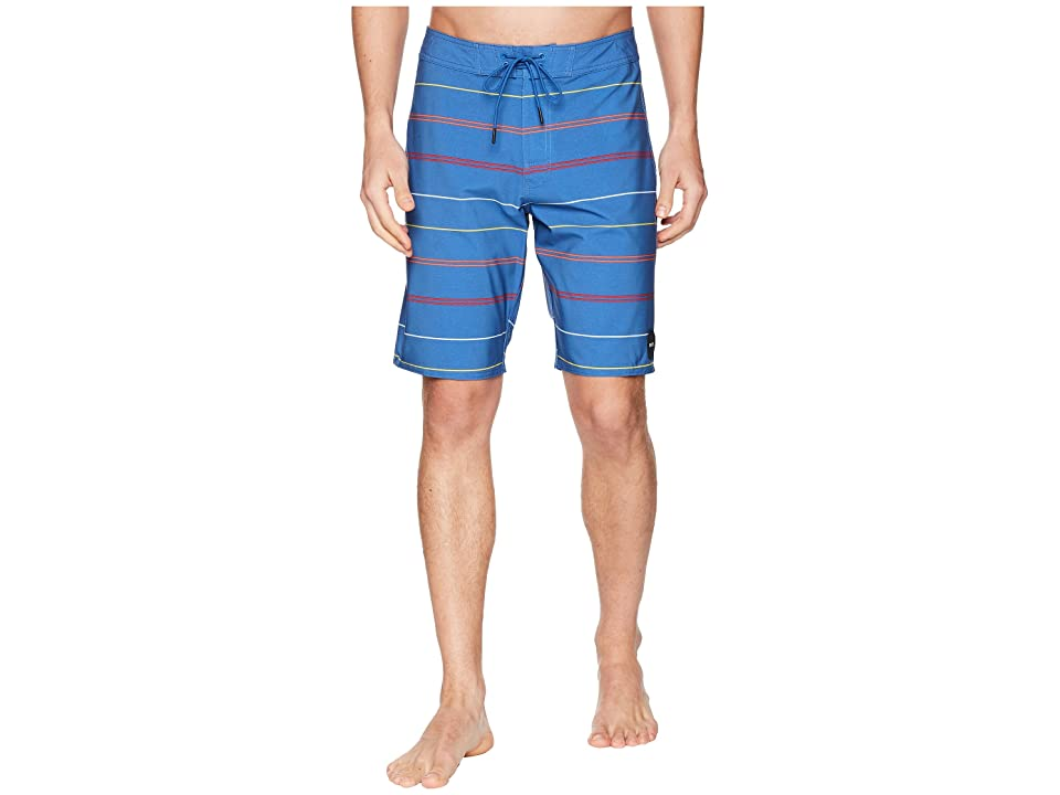 RVCA Middle Trunks (Cobalt) Men
