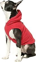 gooby fleece vest hoodie