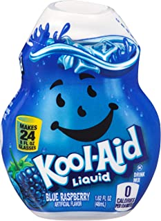 Kool-Aid Blue Raspberry Flavored Liquid Drink Mix (1.62 oz Bottle)