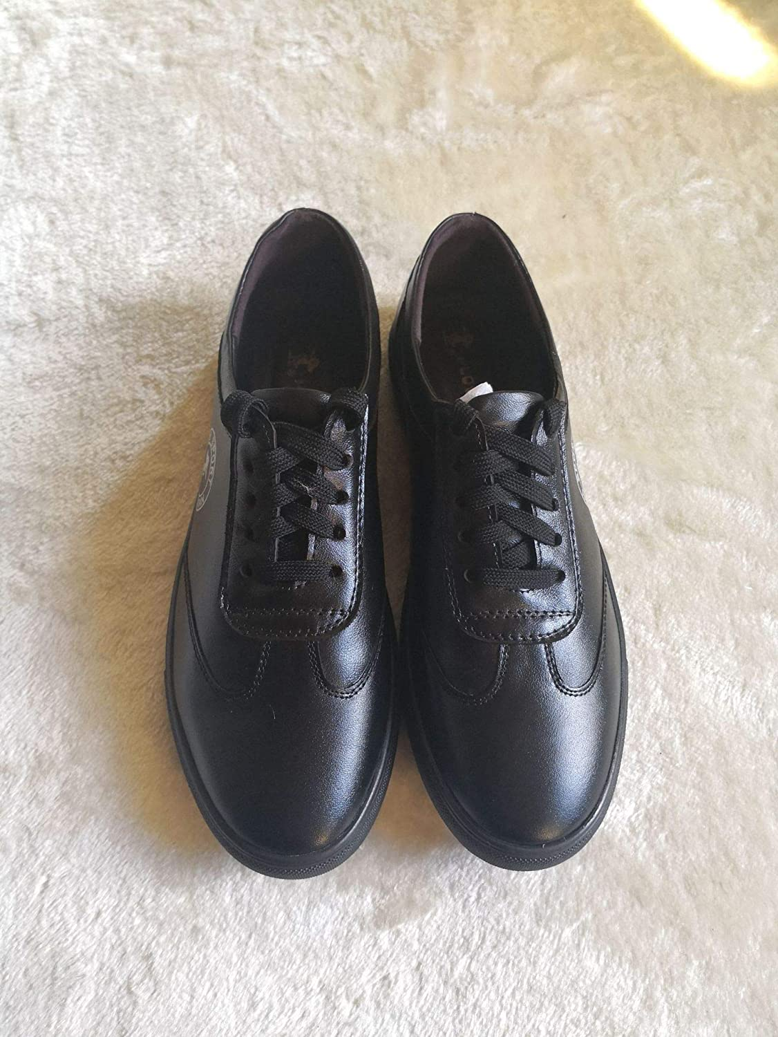 LOVDRAM Men'S Leather shoes, The Latest Style, Fashion, Breathable, Non-Slip Leather, Youth, Casual, Comfortable Leather shoes