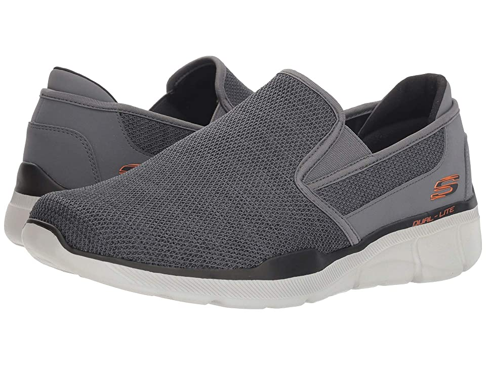 SKECHERS Equalizer 3.0 Sumnin (Charcoal/Orange) Men